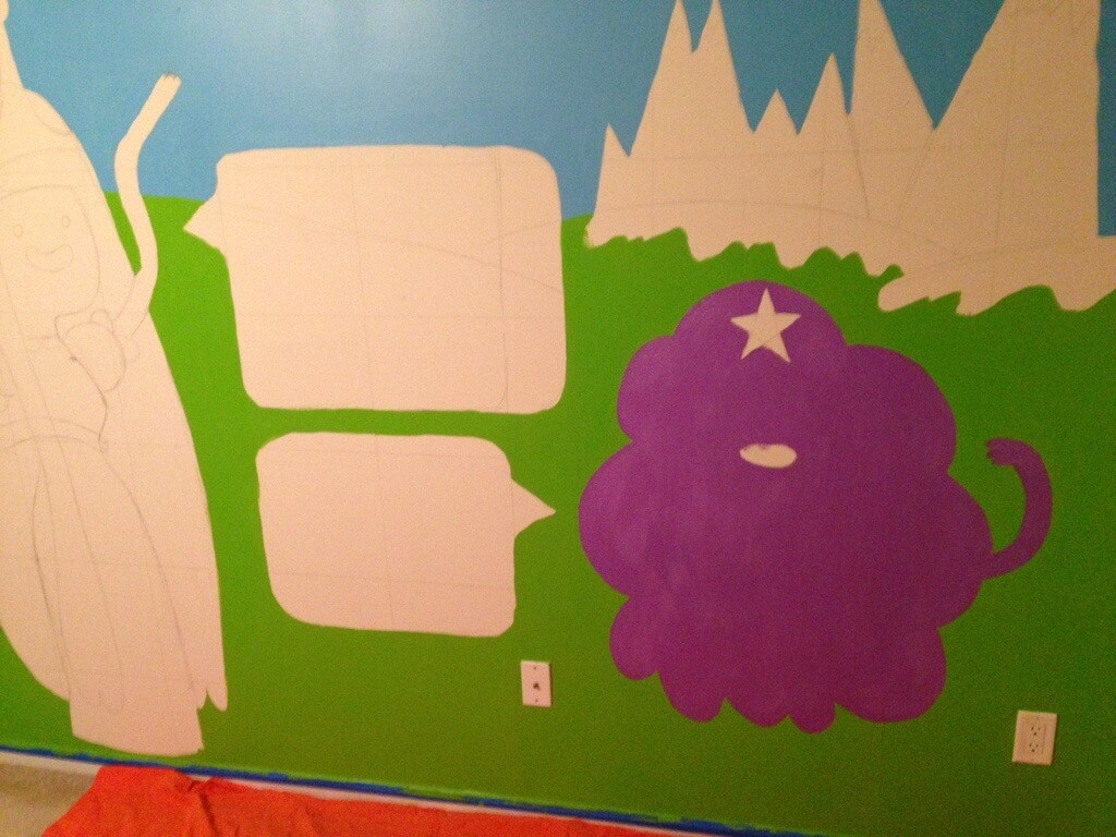 Adventure Time Room