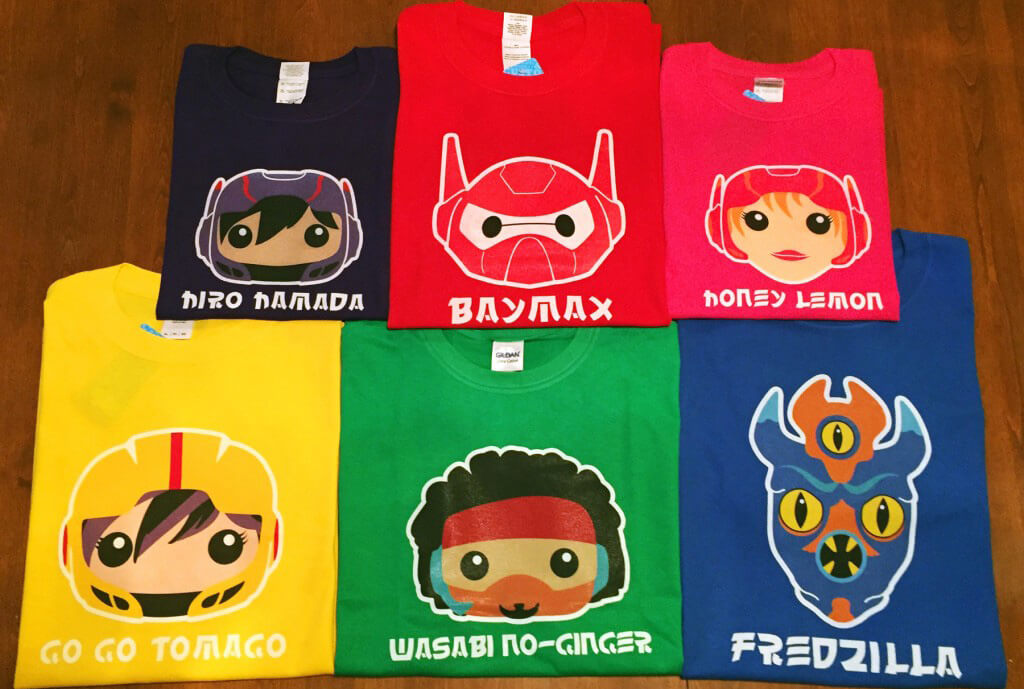 Big Hero 6 Tshirts