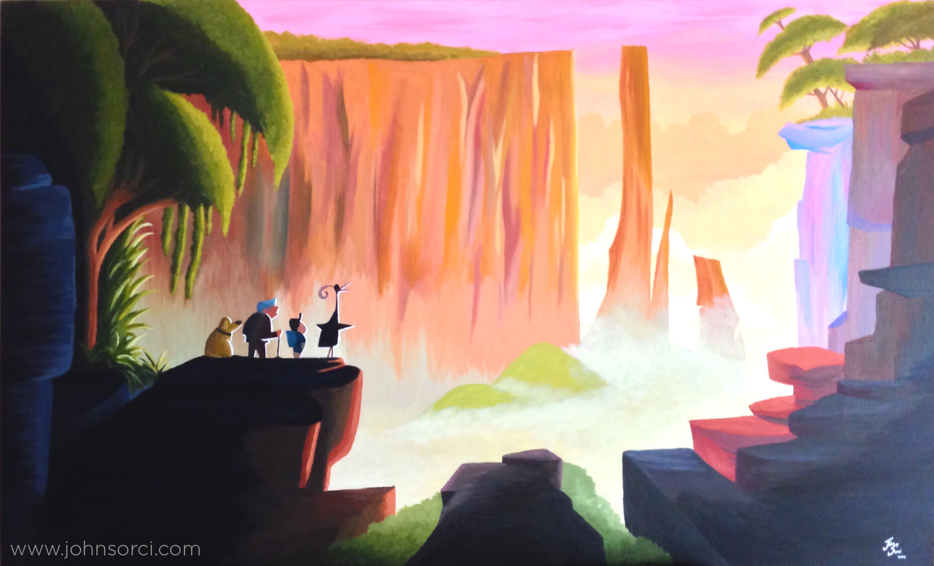 Up Concept Painting